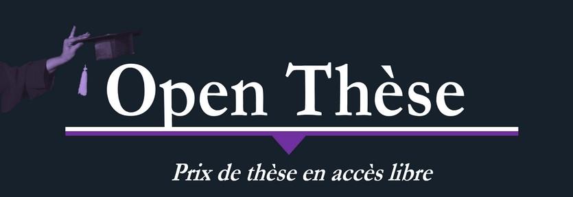 Prix Open thèse 2020, top départ !